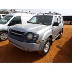2003 NISSAN XTERRA Car / SUV