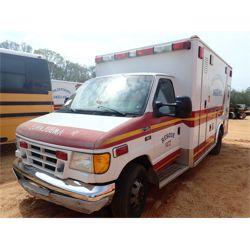 2003 FORD E450 Emergency Vehicle