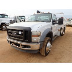 2008 FORD F550XL Service / Mechanic / Utility Truck