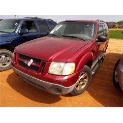 2003 FORD EXPLORER SPORT Car / SUV