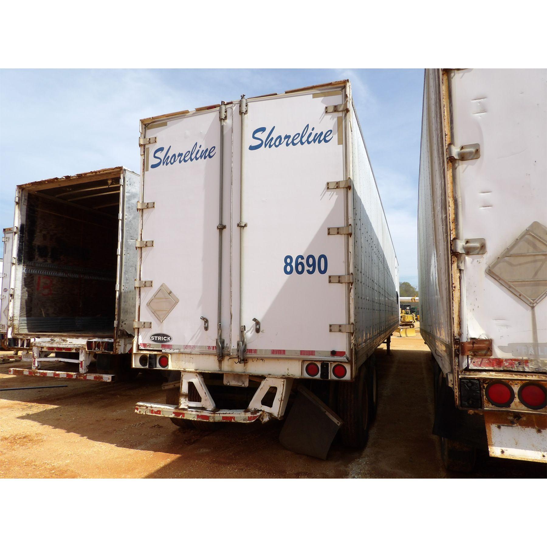 2007 STRICK Dry Van Trailer - J.M. Wood Auction Company, Inc.