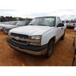 2004 CHEVROLET 1500 Pickup Truck