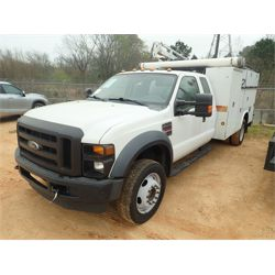 2009 FORD F550 Service / Mechanic / Utility Truck