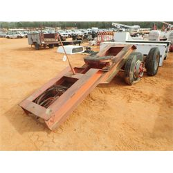MOVED TO RING 2 - Lowboy Trailer
