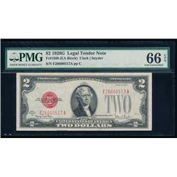 1928G $2 Legal Tender Note PMG 66EPQ