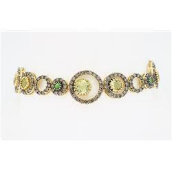 Levian 14KT Yellow Gold 4.00ctw Diamond Bracelet