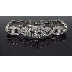 14KT White Gold 5.00ctw Diamond Bracelet