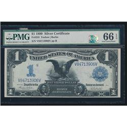 1899 $1 Black Eagle Silver Certificate PMG 66EPQ