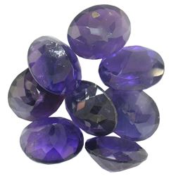 35.09 ctw Oval Mixed Amethyst Parcel