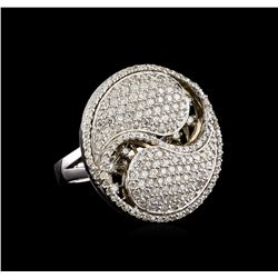 14KT White Gold 1.57 ctw Diamond Ring