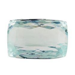 7.45 ct.Natural Rectangle Cushion Cut Aquamarine
