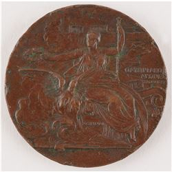 Athens 1896 Summer Olympics Bronze Participation Medal