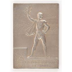 Paris 1900 Summer Olympics Silver Winner's Medal