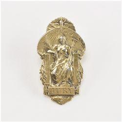 Paris 1900 Exposition Universelle Jury Lapel Badge