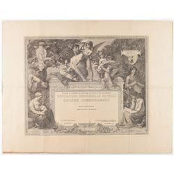 Paris 1900 Exposition Universelle Diploma