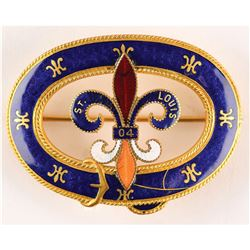 St. Louis 1904 Exposition and Summer Olympics Brooch