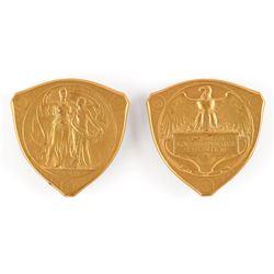 St. Louis 1904 Exposition Uniface Prize Medals