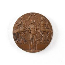 Stockholm 1912 Summer Olympics Bronze Winner's Medal