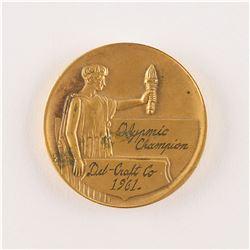 Jesse Owens's Del Craft 1961 Medal