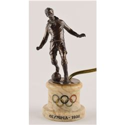 Berlin 1936 Summer Olympics Soccer Lamp