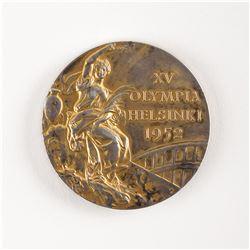 Helsinki 1952 Summer Olympics Gold Winner's Medal