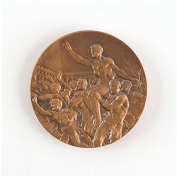 Melbourne 1956 Summer Olympics Bronze Winner's Medal with Case and Diploma