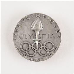 Stockholm 1956 Summer Olympics Silver Winner's Medal