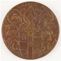 Melbourne 1956 Summer Olympics Participation Medal