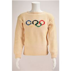 Squaw Valley 1960 Winter Olympics United States Awards Ceremony Sweater