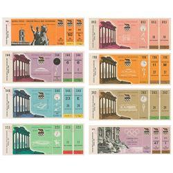 Rome 1960 Summer Olympics Tickets