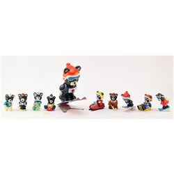 Sapporo 1972 Winter Olympics Mascot Figurines