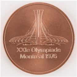 Montreal 1976 Summer Olympics Copper Participation Medal