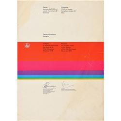 Montreal 1976 Summer Olympics Winner's Diploma