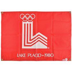 Lake Placid 1980 Winter Olympics Alpine Events Gate Banner