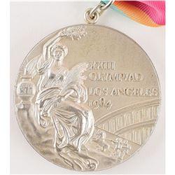 Los Angeles 1984 Summer Olympics Unawarded Silver Winner's Medal