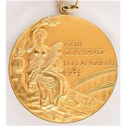 Los Angeles 1984 Summer Olympics Gold Winner's Medal