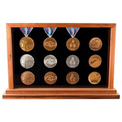Calgary 1988 Winter Olympics Winner's and Participation Medal Collection