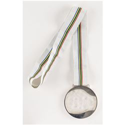 Albertville 1992 Winter Summer Olympics Silver Winner's Medal