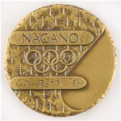Nagano 1998 Winter Olympics Bronze Participation Medal