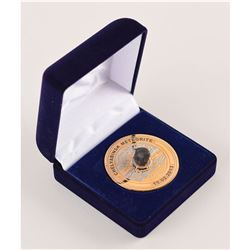Sochi 2014 Winter Olympics Meteorite Winner/VIP Medal with Original Case and Certificate