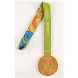 Rio 2016 Summer Olympics Gold Winner's Medal with Case