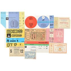 Summer Olympics Ticket Collection