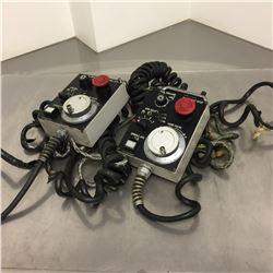 (2) Mazak 32346288650 Manual Pulse Generator