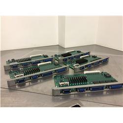 (5) Mitsubishi QX539B PC Control Board