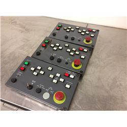 LOT of 3 IDEC ZY1C-SS3153 Operator Board