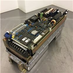 Mitsubishi MR-S1-100-E01 Servo Amplifier *DAMAGE TO COMPONENTS ON TOP BOARD SEE PICS FOR DETAILS*