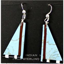 Native American Santo Domingo Earrings