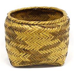 Vintage Native American Cherokee Basket