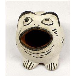 Cochiti Pueblo Pottery Frog by Felipe Trujillo