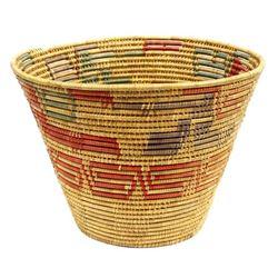 Ethnic Multi-Toned Basket